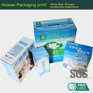 Paper card supplier uv coating cylinder paper box lolly pop box