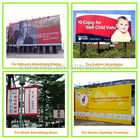 Unipole Billboard with flex material