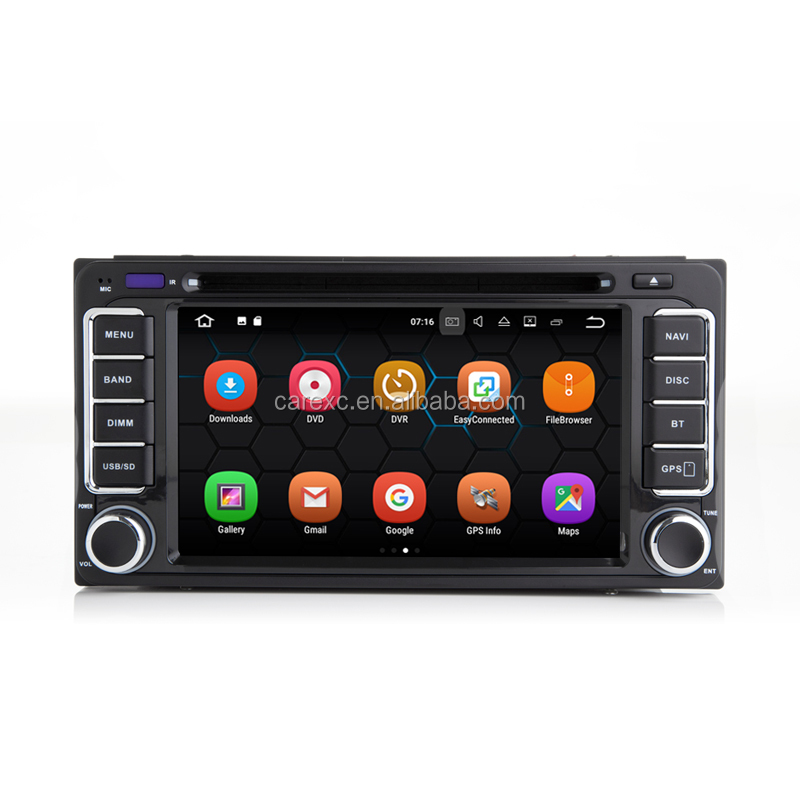 In-Car Multimedia For <strong>Toyota</strong> 2 DIN <strong>Universal</strong> <strong>Android</strong> 7.1 System Auto Radio With GPS Navigation WiFi DVR OBD II DAB Mirror Link