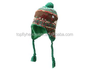 eb1e27b1781 New cartoon knitting hat baby winter hat kids knitted beanie hat pattern