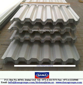 Cameroon Aluminum Gi Single Skin Profiled Roofing Sheet Dana Steel Buy Zinc Steel Roofing Sheets Weight Cameroon Steel Roof Support Beams