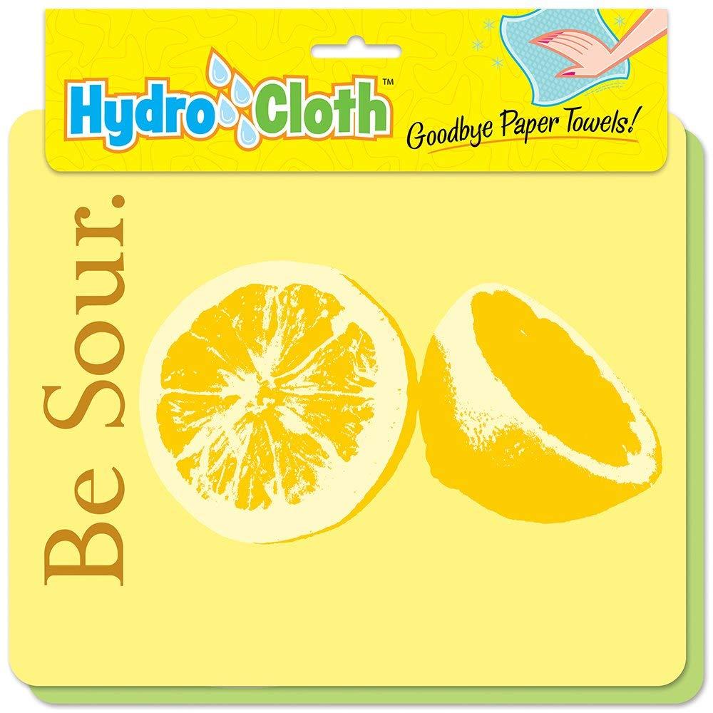 Fiddler's Elbow Be Sour   Eco-friendly Sponge Cloths   Reusable Swedish Dish Cloths   Set of 2 printed Sponge Cloths  Kitchen, bath, auto   Replaces 30 rolls of paper towels   Machine Wash