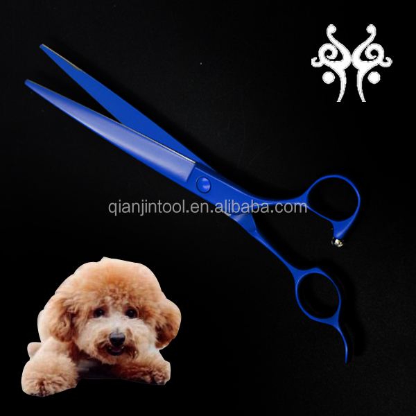 Different Types of Titanium Grooming Scissor for Puppy cats pets Store