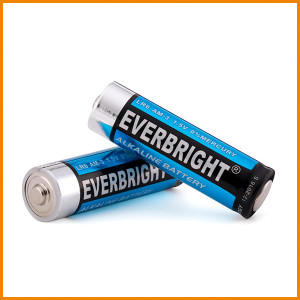 Blister Card 4pcs package Energizer LR6 AA Alkaline Battery