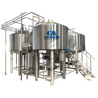 Cassman sales 5000l draft beer equipment mash tun in China