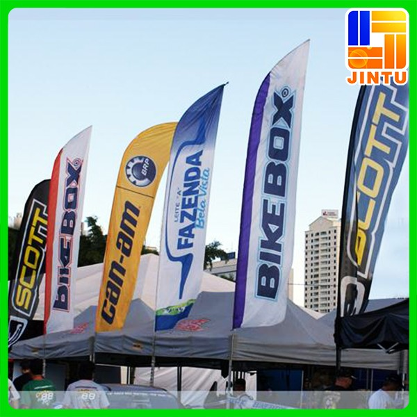Outdoor Flag Banners Wood Flag Stand