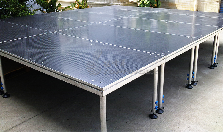 Cheap Price Aluminum Aluminium Mobile Portable Light Dance Wedding Stage Platform Used Outdoor Concert Event For Sale