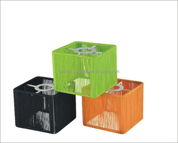 Vivid Colorful Cube Strings Table Lamp Shade Or For Ceiling