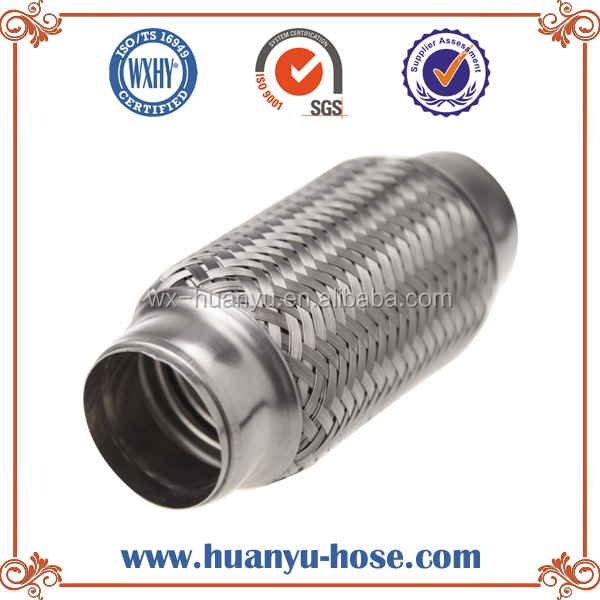 304 stainless steel flexible flame thrower car exhaust