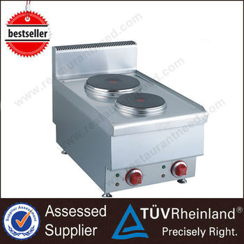 Commercial High Quality Counter Top 2 Burner Electric Hot Plate Mini Hot Plate