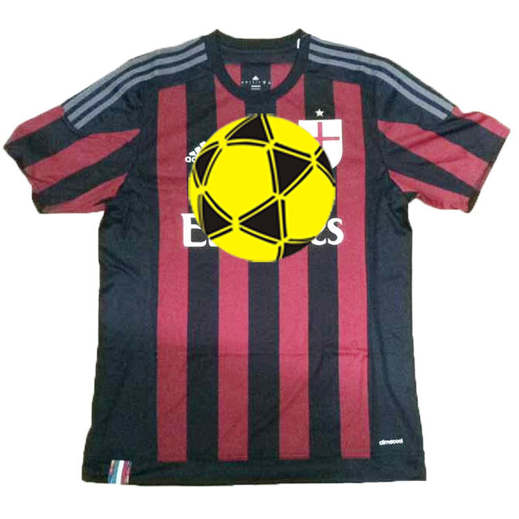 a06501d9e Get Quotations · Free shipping AC MILAN Away Jersey Soccer jersey for man  football jersey T shirt for sell