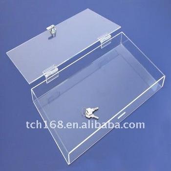 Transparent Acrylic Box/ Clear Plastic Box/ Crystal Storage Bin & Transparent Acrylic Box/ Clear Plastic Box/ Crystal Storage Bin ...