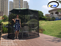 outdoor gazebo with mosquito net