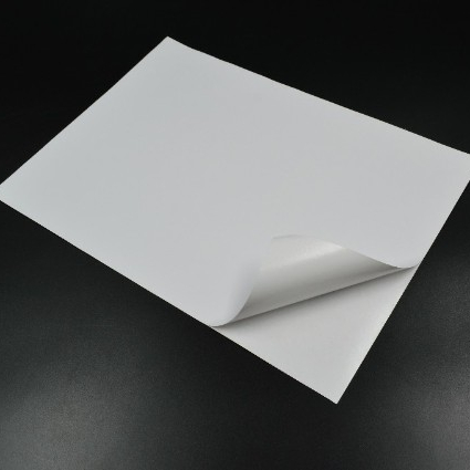 A4 Self Adhesive White Woodfree sticker <strong>paper</strong>