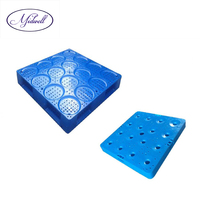 Midwell Economic Stackable Plastic Pallet for 5 Gallon Water Bottles