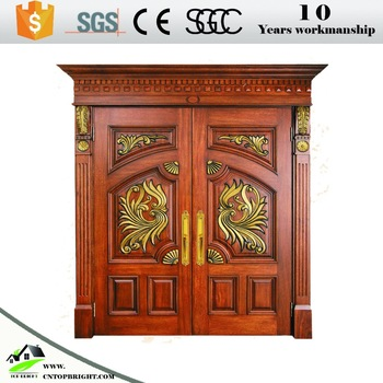 Modern Designs Solid Teak Wood Main Double Front Door Buy Main Door Designs Double Door Solid Teak Wood Door Modern Designs Teak Wood Front Door