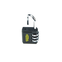 China supplier new product ideas 3 digit resettable combination security combination number travel lock