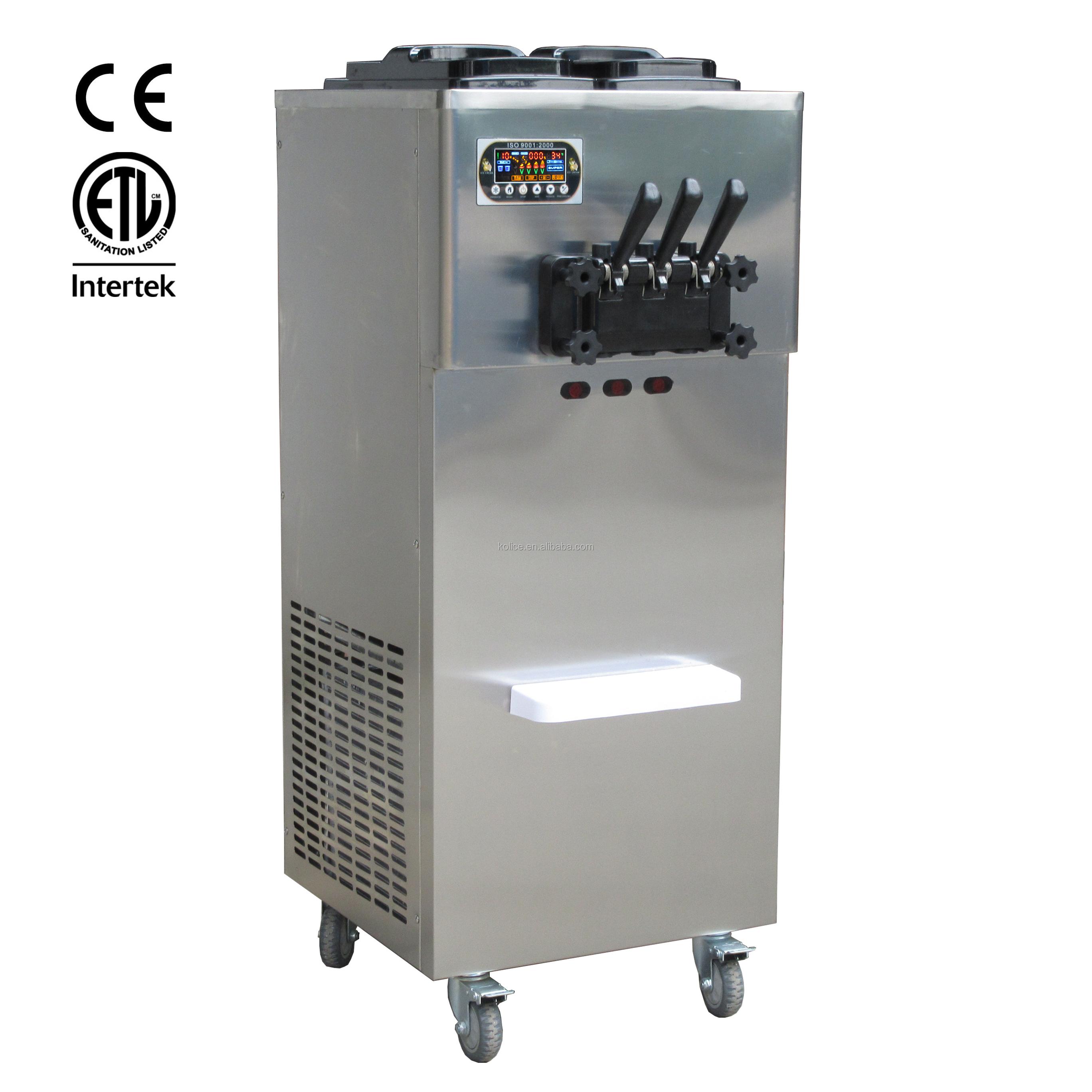 Yüksek kaliteli dondurma makinesi dondurma yapımı için
