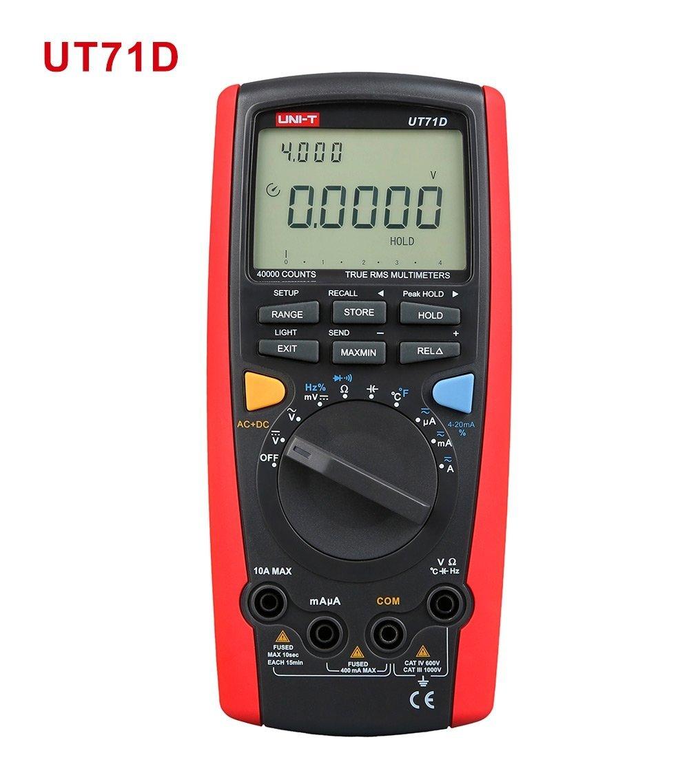 UT71D high-precision digital multimeter multi-purpose multimeter