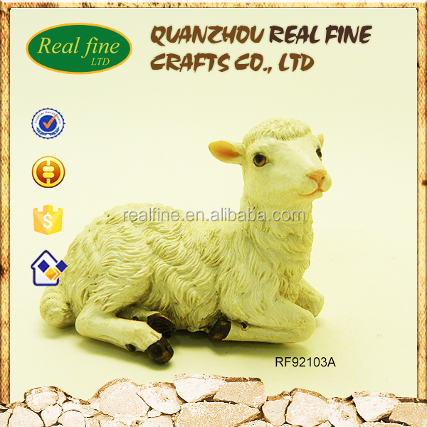Garden sheep ornaments animal statues