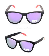Sungeras 2017 new develop ce uv400 custom logo plastic frame polarized machine to make street fashion sun glasses imitation