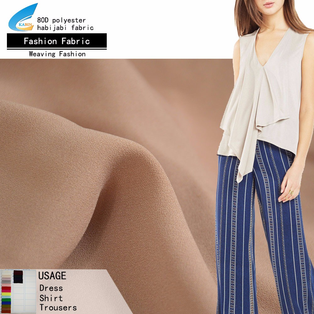 polyester spandex d one piece chiffon fabric for maxi dress petticoat fabric shirt textile fabric