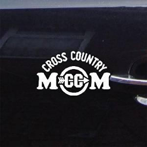Cross Country Mom Laptop Die Cut Window Wall Art Car Home Decor Decor Helmet Vinyl Decal Sticker Art White Car