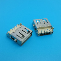 factory price usb a type smd / usb socket female / a type usb female smt