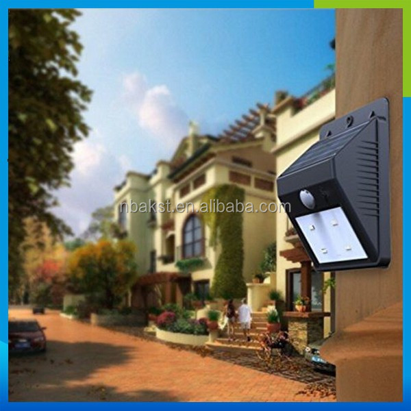2015 Hot Trade Assurance Led Solar Light Wholesale Outdoor 6Led Solar Lighting System Most Powerful solar Wind Led Street Lights