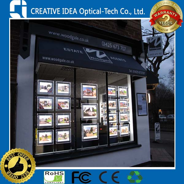 LED Lit Window Displays