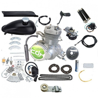 CDHpower PK80 40mm intake Motorized Bike Petrol Gas Bicycle Engine 2 Stroke 50CC 60CC 80CC Cycle Motor Kit
