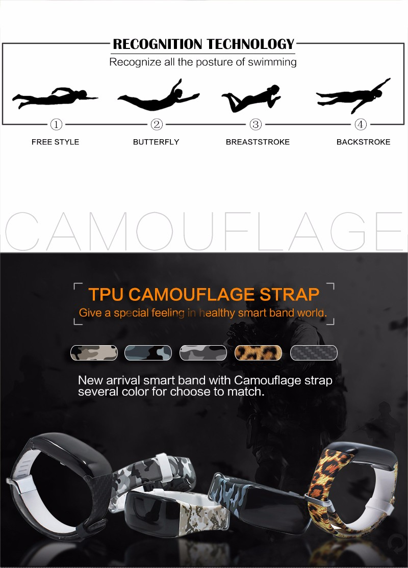 Swimming Arm Swinging Timer Ip67 Waterproof Smart Band With Heart Rate  Function - Buy Swimming Timer Smart Bracelet,Ip67 Waterproof Fitness
