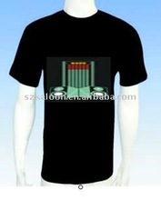 el animated flashing t-shirt