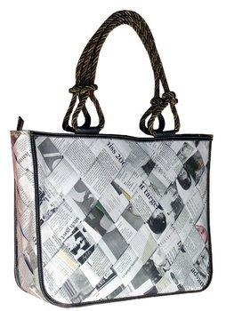 Recycled Newspaper Handbag