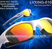 2013 latest fashions polarized sports eyewear with five lens interchangeable