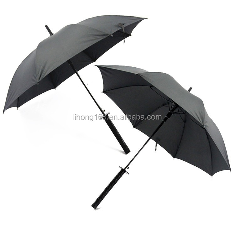China wholesale samurai sword handle umbrella