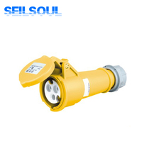 SSL-213x-4h Electric 32 amps Waterproof Industrial Socket,Male And Female Industrial Plug Socket