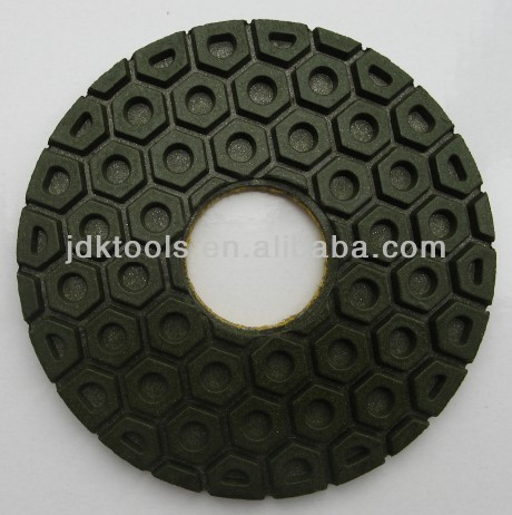 Grinding Edge Diamond Profiling Pad Polishing Pad Hexagonal Nail Lock Pad