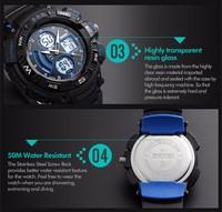 Skmei Digital Watch Instructions Manual,Man Promotional Dual Time ...