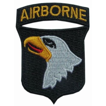 Wwii Us Paratrooper 101st Airborne Screaming Eagle Patch - Buy Wwii Us  Paratrooper 101st Airborne Screaming Eagle Patch,Wwii Us Paratrooper 101st