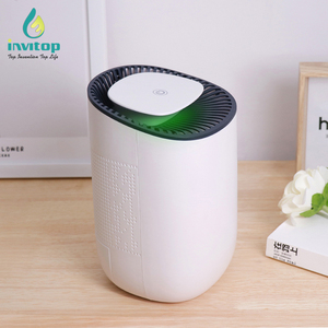 2019 Trending new arrivals customized color 600ml home air mini portable small peltier dehumidifier