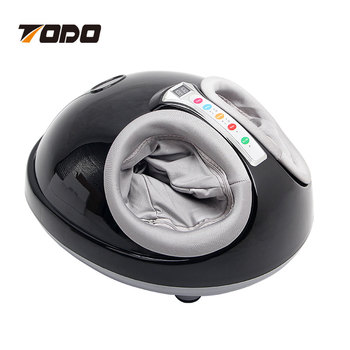 Multifunction 3D air pressure shiatsu kneading and rolling foot massager