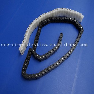 chemical stability custom injection molding delrin conveyor chain