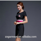 oem supply Massage Therapist Health Nail Salon Uniform ladies slim fit fashion design hotel massage spa uniforms