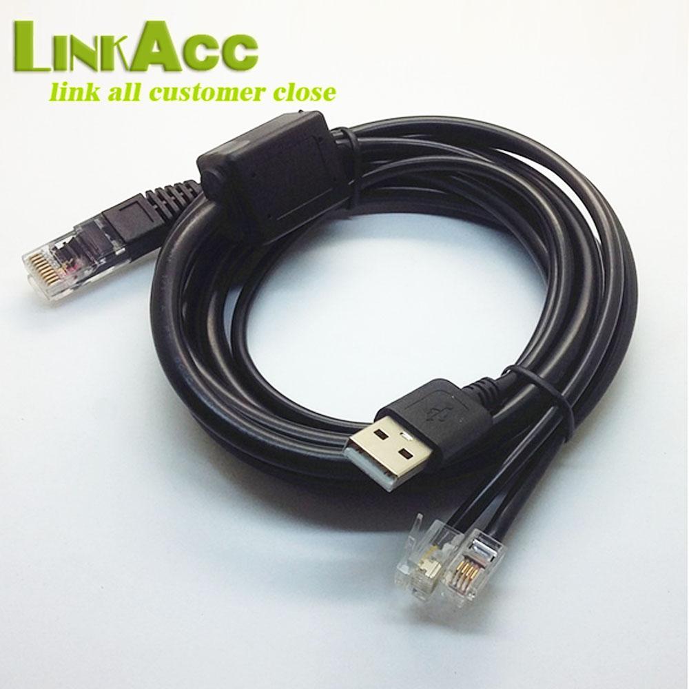 Lkcl846 10p10c Rj50 To Usb +2* Rj12 6p6c Sync Splitter Cable - Buy ...
