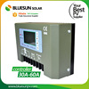 Bluesun 24V 48V solar controller pwm ce rohs solar charge controller 50a 60a for solar power system