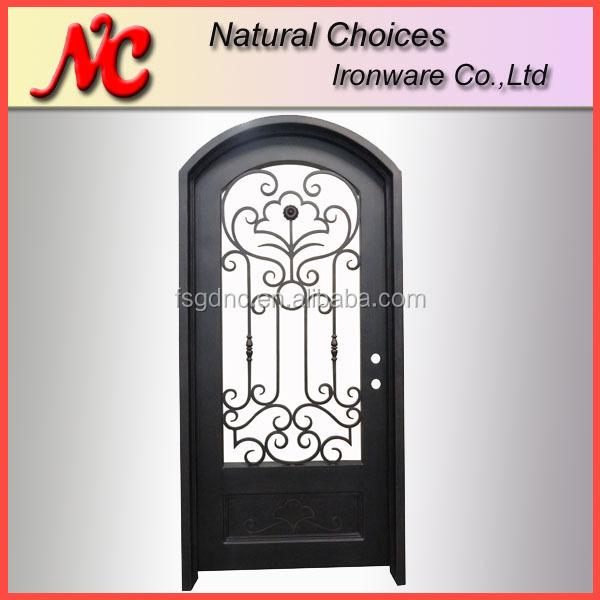 Hermoso Diseño Puertas De Hierro Decorativos Para La Casa - Buy ...