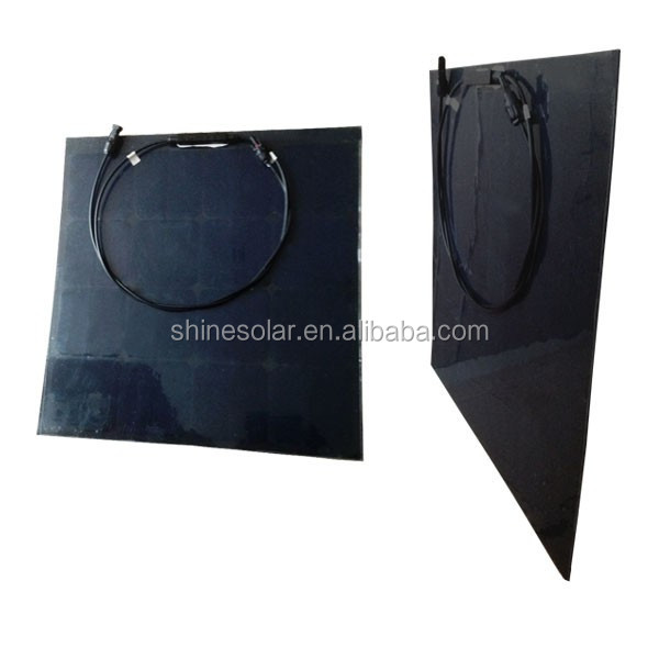 50w flexible solar panels films for home window use