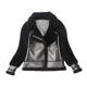 European style motorcycle jacket winter women sheep skin leather jacket