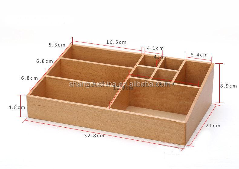 2015 High Quality New Design Handmade Decorative Wooden Makeup Box ...